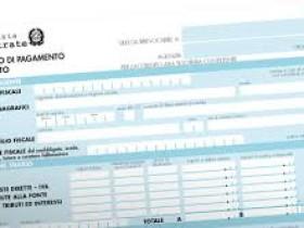 Pagare le imposte con Mod. F24