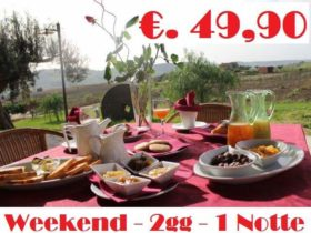 Weekend 2gg/1Notte Colle San Mauro €. 49,90p.p