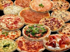 GIRO PIZZA + DANZA del VENTRE €. 9,00 – Ristorante, Pizzeria Sidi Bou Said, Via P. di Belmonte, 31 – Palermo