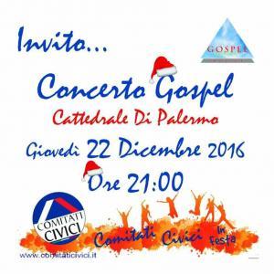 Concerto Gospel 22 Dicembre 2016